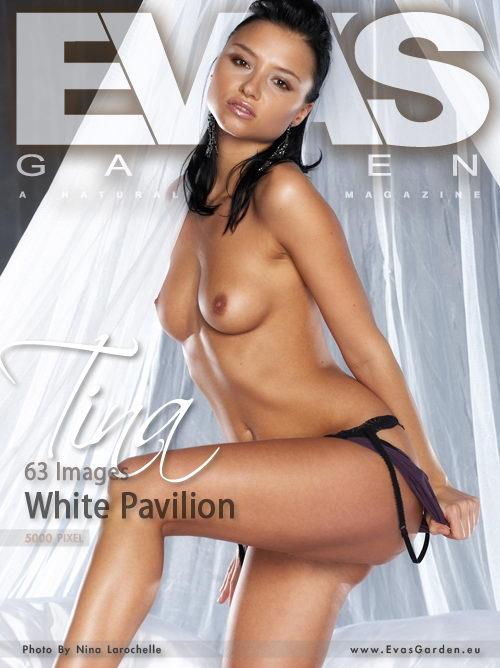 Tina - `White Pavilion` - by Nina Larochelle for EVASGARDEN