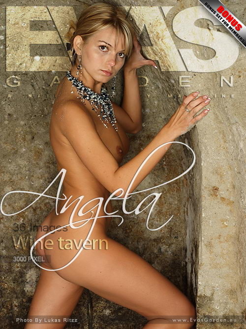 Angela - `Wine Tavern` - by Lukas Ritzz for EVASGARDEN