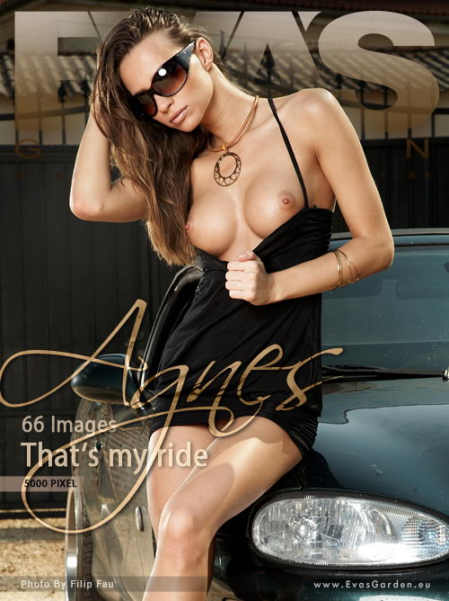 Agnes - `That's my Ride` - by Filip Fau for EVASGARDEN