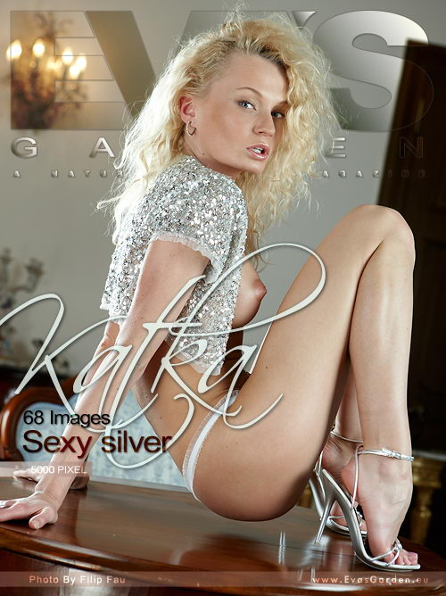 Katka - `Sexy Silver` - by Filip Fau for EVASGARDEN