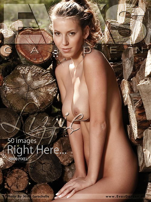 Lizzie - `Right Here...` - by Nina Larochelle for EVASGARDEN