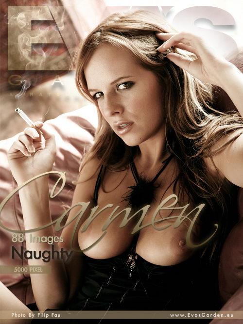 Carmen - `Naughty` - by Filip Fau for EVASGARDEN