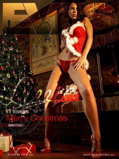 Lizzie - `Merry Christmas` - by Filip Fau for EVASGARDEN
