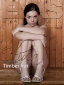 Olivia in Timber Hut gallery from EVASGARDEN by Oczkoo T