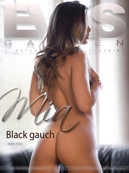 Mia - `Black Gauch` - by Dominic Green for EVASGARDEN