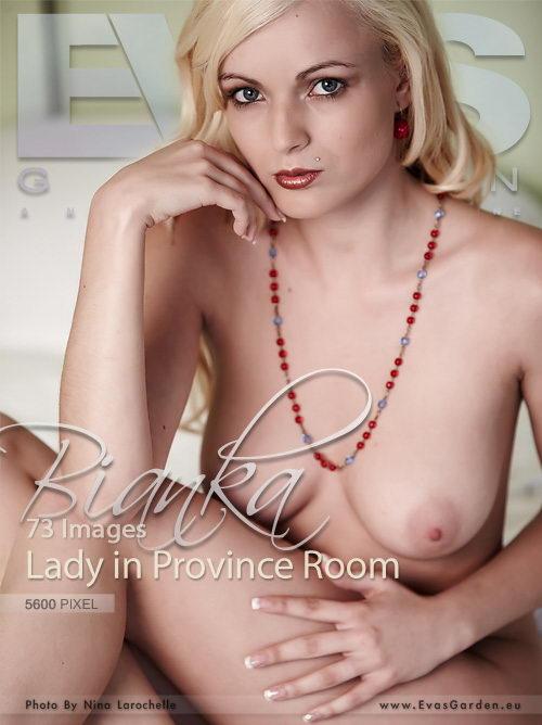 Bianka - `Lady In Province Room` - by Nina Larochelle for EVASGARDEN
