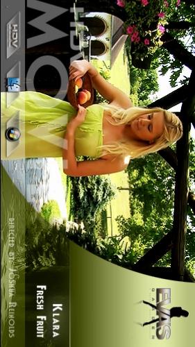 Klara - `Fresh Fruit` - by Joshua Reinolds for EVASGARDEN