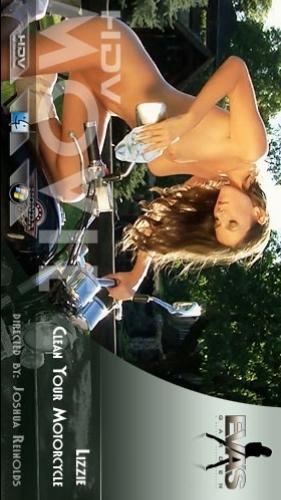 Lizzie - `Clean Your Motorcycle` - by Joshua Reinolds for EVASGARDEN