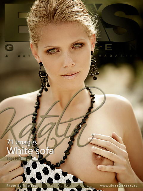 Katalin - `White Sofa` - by Filip Fau for EVASGARDEN