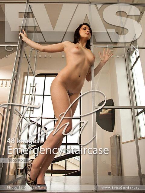 Trisha - `Emergency Staircase` - by Oczkoo T for EVASGARDEN