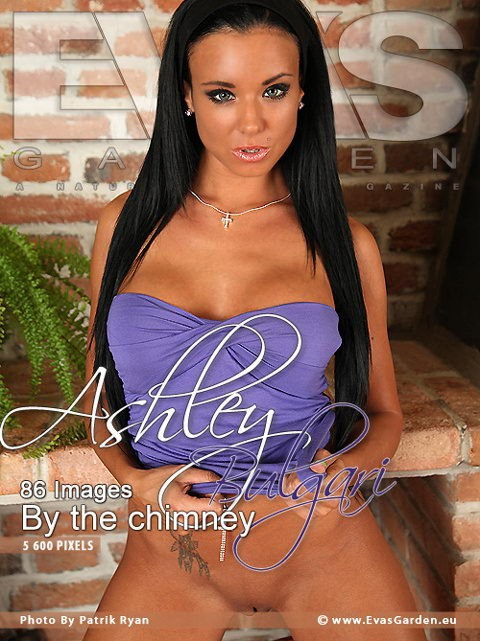 Ashley - `By the Chimney` - by Patrik Ryan for EVASGARDEN