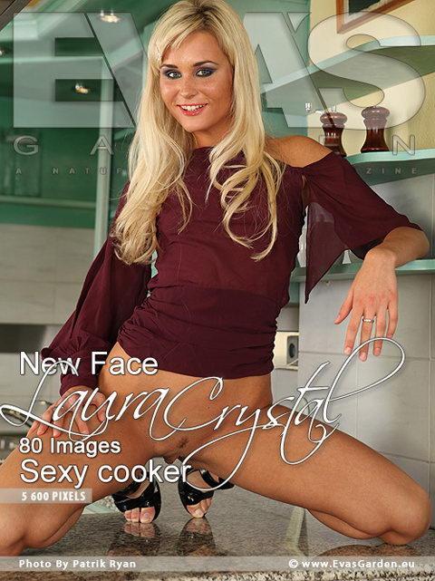 Laura Crystal - `Sexy Cooker` - by Patrik Ryan for EVASGARDEN