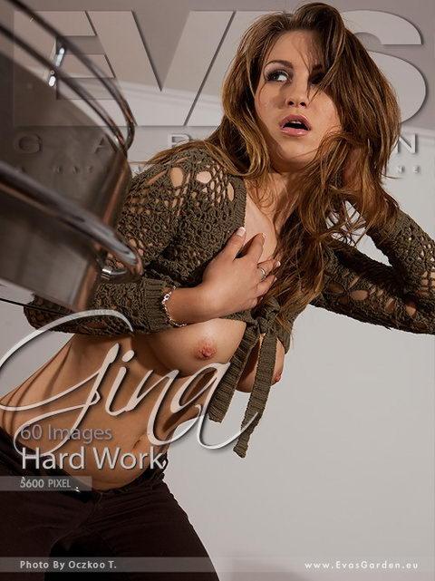 Gina - `Hard Work` - by Oczkoo T for EVASGARDEN