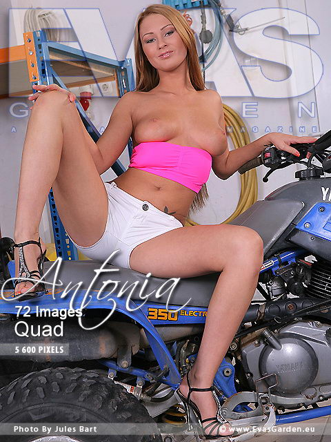 Antonia - `Quad` - by Jules Bart for EVASGARDEN