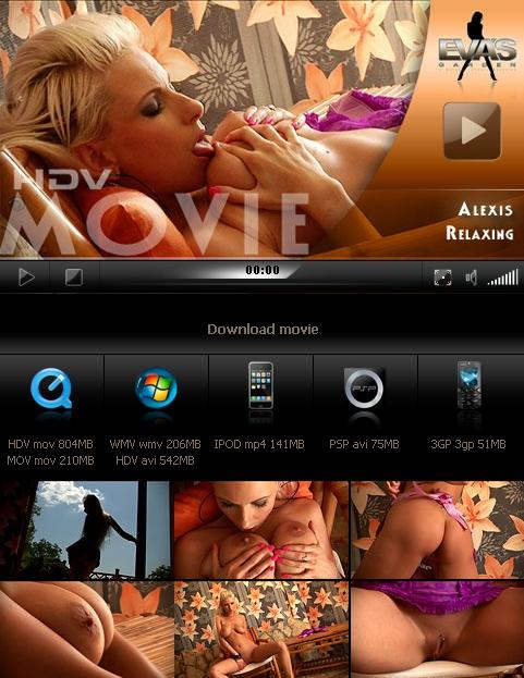 Alexis - `Relaxing` - for EVASGARDEN