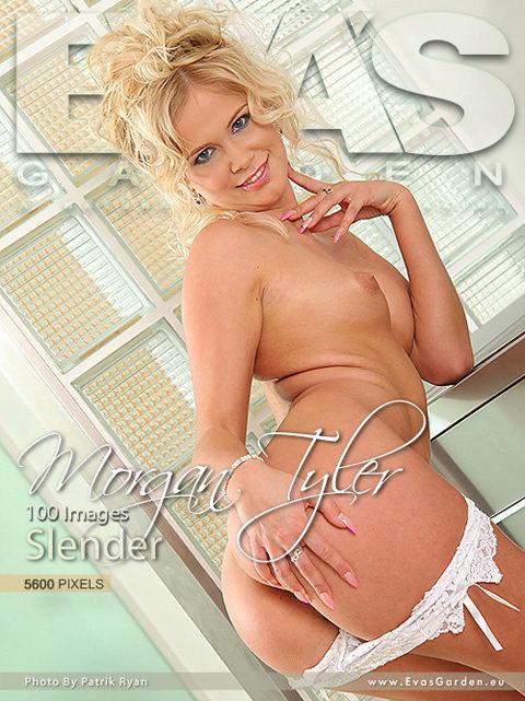 Morgan Tyler - `Slender` - by Patrik Ryan for EVASGARDEN