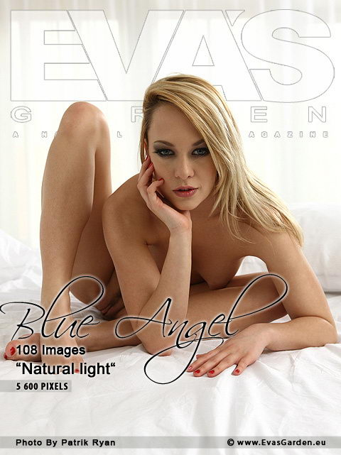 Blue Angel - `Natural Light` - by Patrik Ryan for EVASGARDEN