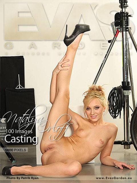 Natalya Orloff - `Casting` - by Patrik Ryan for EVASGARDEN