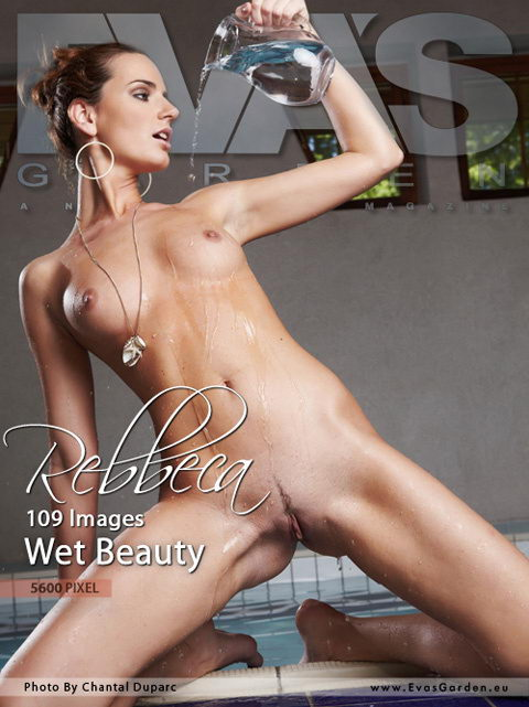 Rebbeca - `Wet Beauty` - by Chantal Duparc for EVASGARDEN