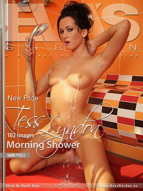 Tess Lyndon - `Morning Shower` - by Patrik Ryan for EVASGARDEN
