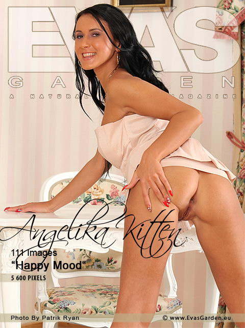 Angelika Kitten - `Happy Mood` - by Patrik Ryan for EVASGARDEN