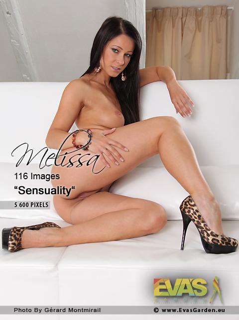 Melissa - `Sensuality` - by Gerard Montmirail for EVASGARDEN