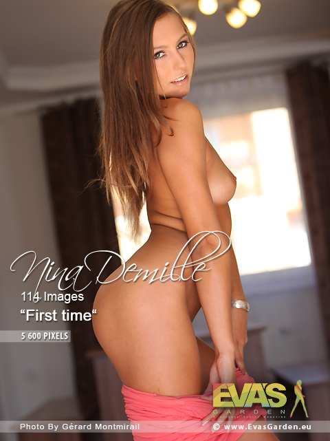 Nina Demille - `First time` - by Gerard Montmirail for EVASGARDEN