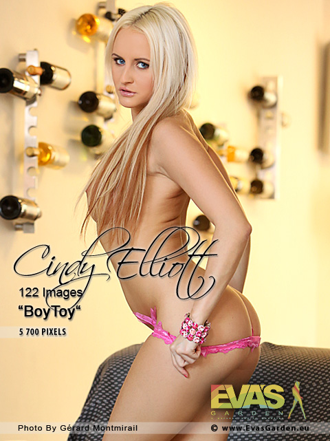 Cindy Elliott - `BoyToy` - by Gerard Montmirail for EVASGARDEN
