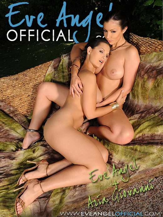 Eve Angel & Aria Giovanni - `Pussy Licking Fiesta` - for EVEANGELOFFICIAL