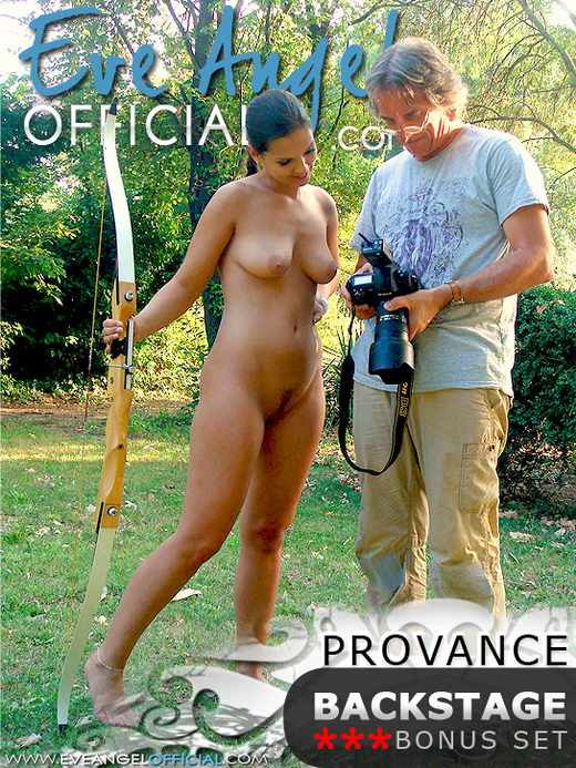 Eve Angel - `Provance Backstage` - for EVEANGELOFFICIAL