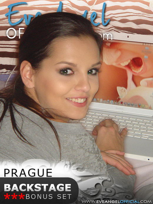 Eve Angel - `Prague Backstage` - for EVEANGELOFFICIAL