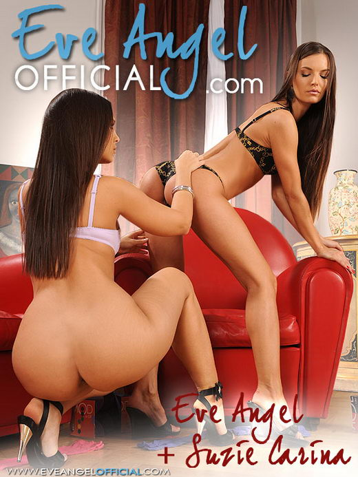Eve Angel & Suzie Carina - `9334ea - Pantyhose Sex` - for EVEANGELOFFICIAL
