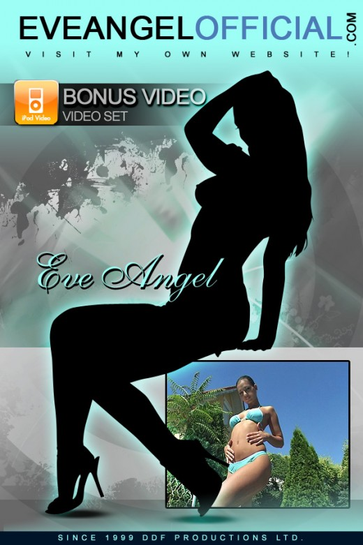 Eve Angel in Trimmed twat amidst the aqua blue! video from EVEANGELOFFICIAL