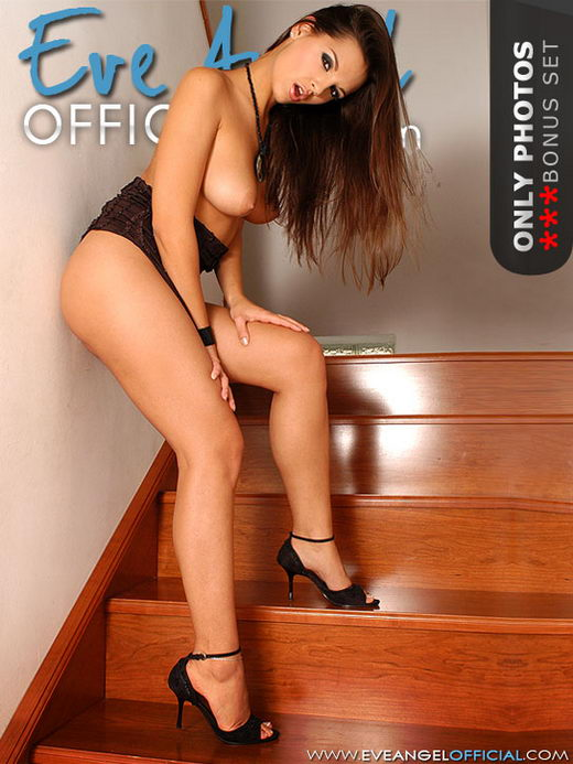 Eve Angel - `Pink solo on stairs` - for EVEANGELOFFICIAL