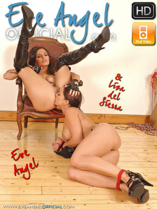 Liza del Sierra & Eve Angel - `Eve Angel gets dominant` - for EVEANGELOFFICIAL