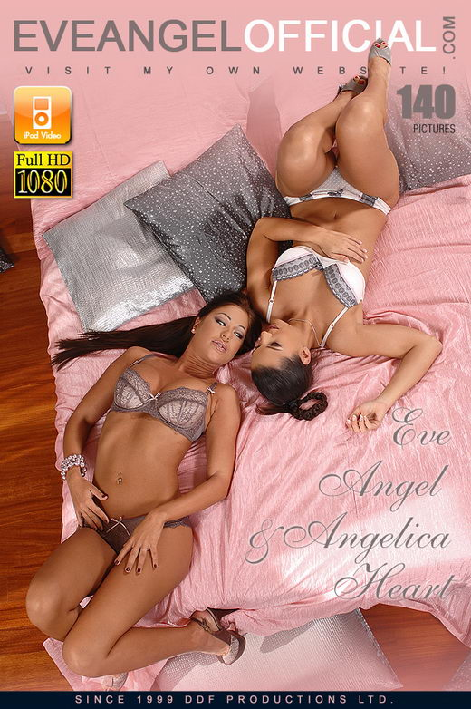 Angelica Heart & Eve Angel - `The Queens Of Porn Collide` - for EVEANGELOFFICIAL