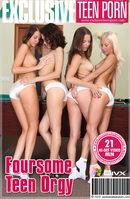 Foursome Teen Orgy