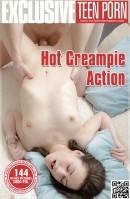 Hot Creampie Action