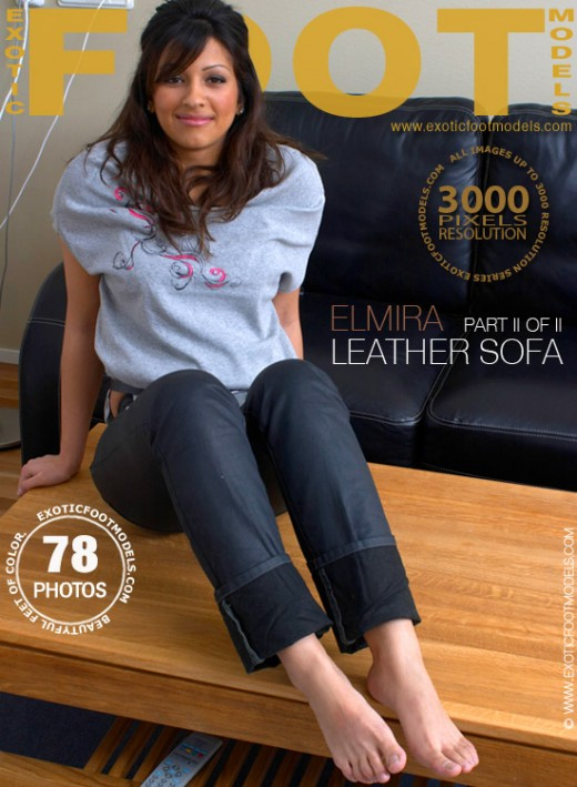Elmira - `#7 - Leather Sofa - Part 2` - for EXOTICFOOTMODELS
