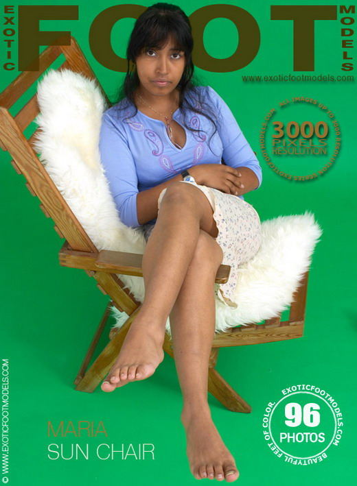Maria - `Sun Chair` - for EXOTICFOOTMODELS