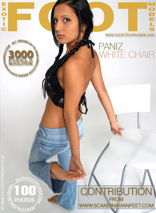Paniz - `White Chair` - for EXOTICFOOTMODELS