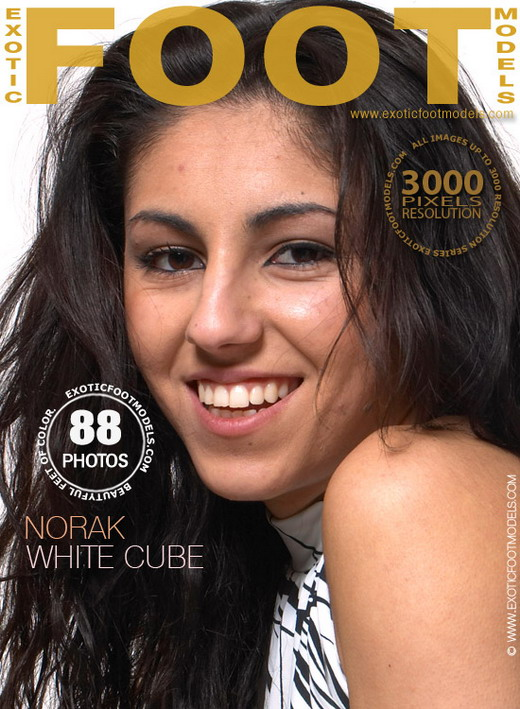 Norak - `White Cube` - for EXOTICFOOTMODELS
