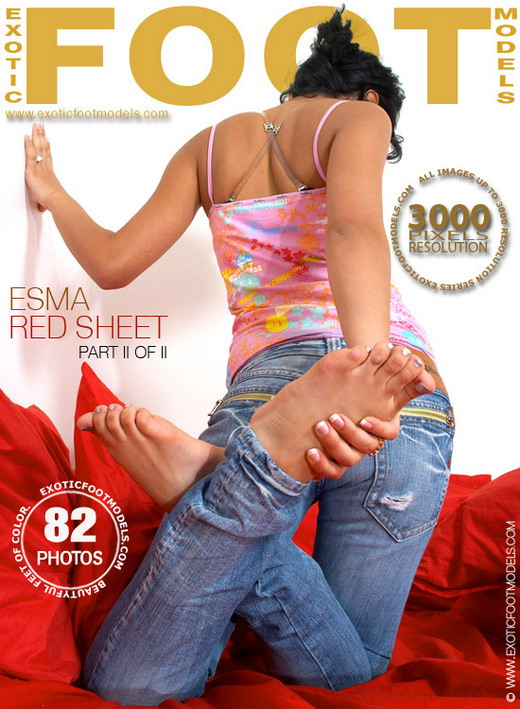 Esma - `Red Sheet - Part 2` - for EXOTICFOOTMODELS
