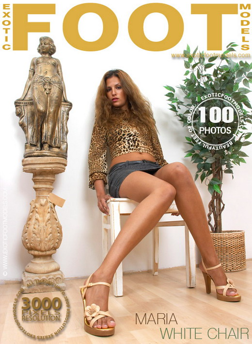 Maria - `White Chair` - for EXOTICFOOTMODELS