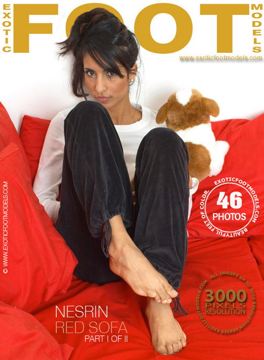 Nesrin - `Red Sofa - Part 1` - for EXOTICFOOTMODELS