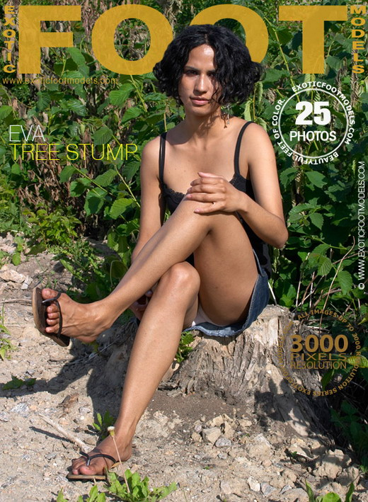 Eva - `Tree Stump` - for EXOTICFOOTMODELS