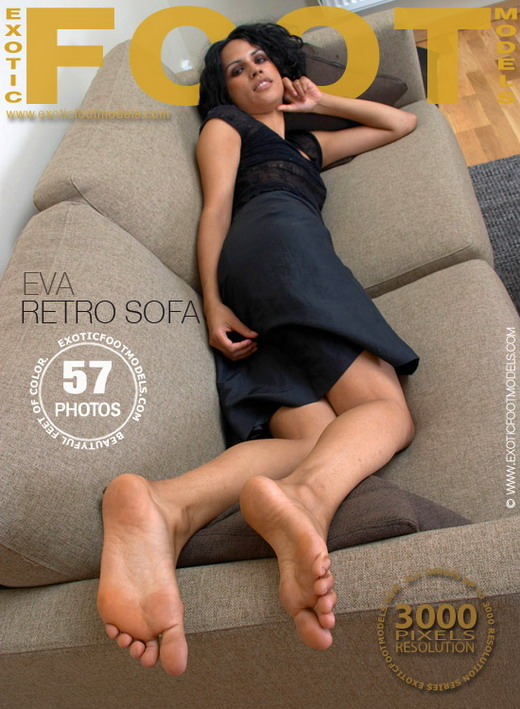Eva - `Retro Sofa` - for EXOTICFOOTMODELS