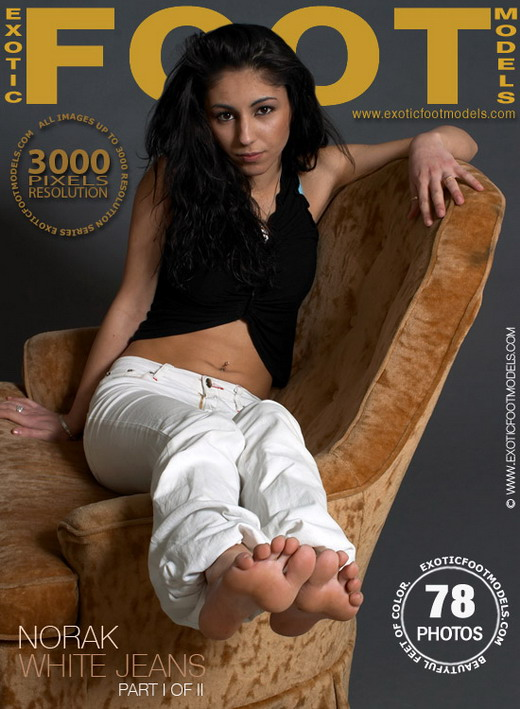 Norak - `White Jeans - Part 1` - for EXOTICFOOTMODELS