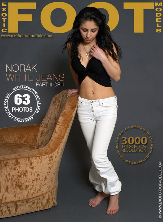 Norak - `White Jeans - Part 2` - for EXOTICFOOTMODELS