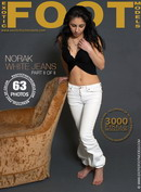Norak in White Jeans - Part 2 gallery from EXOTICFOOTMODELS